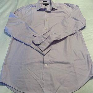 NWT Soulland Men/'s Boris Shirt All Over Embroidery Button Down Shirt White Sz M